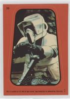 Imperial Biker Scout (Orange) [Noted]
