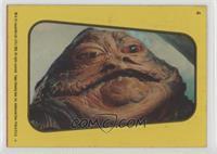 Jabba The Hutt (Yellow) [GoodtoVG‑EX]