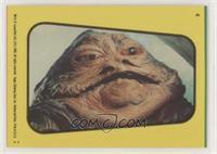 Jabba The Hutt (Yellow)