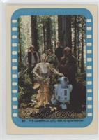 Han Solo, Luke Skywalker, Princess Leia Organa, Chewbacca, C-3PO, R2-D2