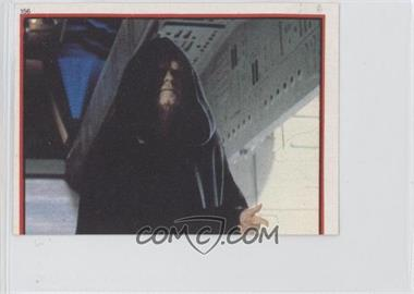1983 Topps Star Wars: Return of the Jedi Album Stickers - [Base] #156 - Emperor Palpatine