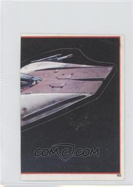 1983 Topps Star Wars: Return of the Jedi Album Stickers - [Base] #165 - A-Wing Fighter