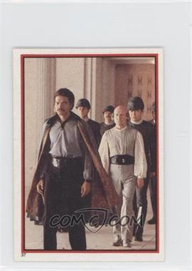 1983 Topps Star Wars: Return of the Jedi Album Stickers - [Base] #37 - Lando Calrissian