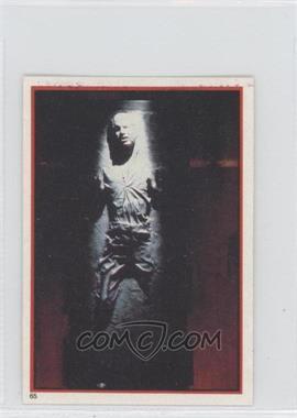 1983 Topps Star Wars: Return of the Jedi Album Stickers - [Base] #65 - Han Solo in Carbonite