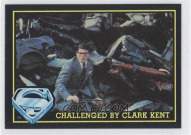 1983 Topps Superman III - [Base] #60 - Challenged By Clark Kent