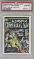 The Monster Frankenstein [PSA 10]