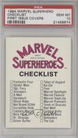 Checklist [PSA10]