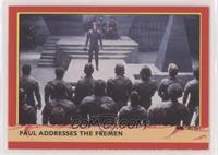 Paul Addresses the Fremen