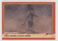 Paul Hooks a Giant Worm