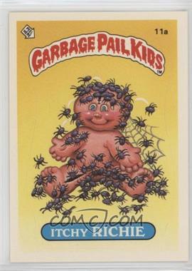1985 Topps Garbage Pail Kids Series 1 - [Base] #11a - Itchy Richie