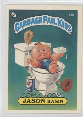 1985 Topps Garbage Pail Kids Series 1 - [Base] #14b - Jason Basin