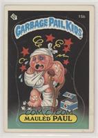 Mauled Paul (grouch license back) [PoortoFair]