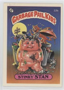 1985 Topps Garbage Pail Kids Series 1 - [Base] #22b - Stinky Stan