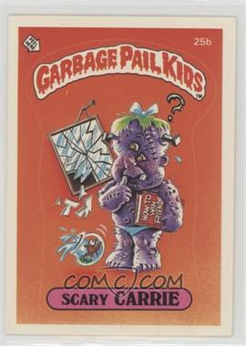 1985 Topps Garbage Pail Kids Series 1 - [Base] #25b.2 - Scary Carrie (two star back)