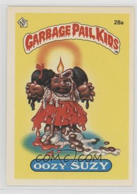 1985 Topps Garbage Pail Kids Series 1 - [Base] #28a - Oozy Suzy