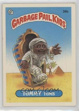 1985 Topps Garbage Pail Kids Series 1 - [Base] #36b.2 - Tommy Tomb (Two Star Back)