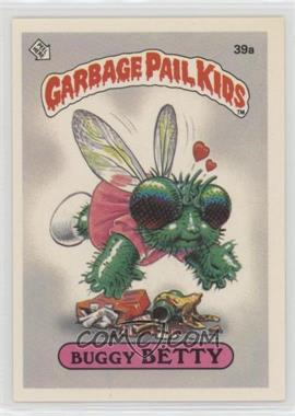 1985 Topps Garbage Pail Kids Series 1 - [Base] #39a - Buggy Betty