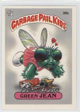 1985 Topps Garbage Pail Kids Series 1 - [Base] #39b - Green Jean
