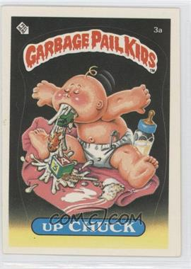 1985 Topps Garbage Pail Kids Series 1 - [Base] #3a - Up Chuck