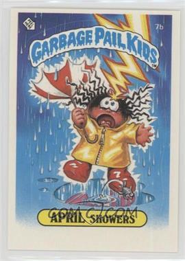 1985 Topps Garbage Pail Kids Series 1 - [Base] #7b.2 - April Showers (Two Star Back)