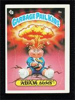 Adam Bomb (Cheaters License back)