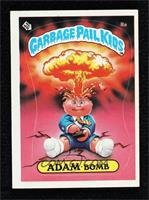 Adam Bomb (Checklist back)