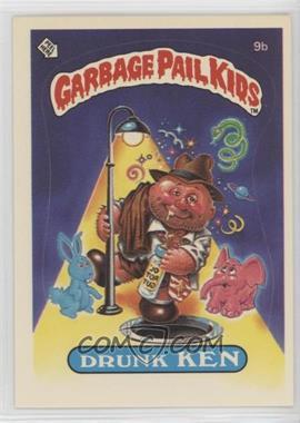 1985 Topps Garbage Pail Kids Series 1 - [Base] #9b.2 - Drunk Ken (Two Star Back)