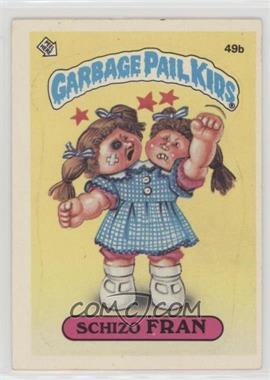 1985 Topps Garbage Pail Kids Series 2 - [Base] #49b.2 - Fran Fran (Two Star Back)