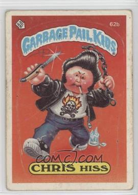 1985 Topps Garbage Pail Kids Series 2 - [Base] #62b.2 - Chris Hiss (Two Star Back)