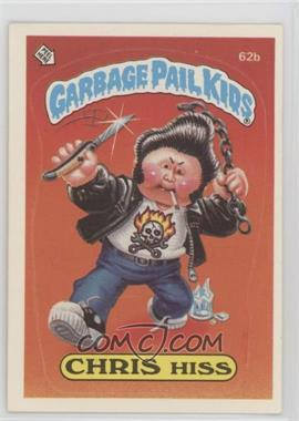 1985 Topps Garbage Pail Kids Series 2 - [Base] #62b.2 - Chris Hiss (Two Star Back)