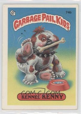 1985 Topps Garbage Pail Kids Series 2 - [Base] #74b.2 - Kennel Kenny (Two Star Back)