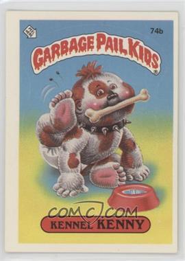 1985 Topps Garbage Pail Kids Series 2 - [Base] #74b.2 - Kennel Kenny (Two Star Back)