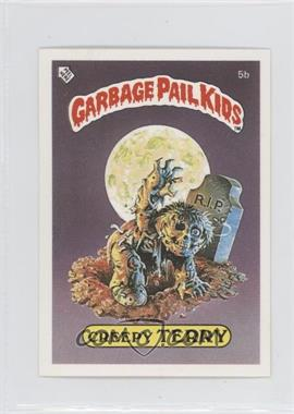 1986 Topps Garbage Pail Kids Series 1 - [Base] - UK Minis #5b.2 - Creepy Terry (Stupid Student Back)