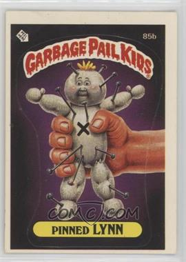 1986 Topps Garbage Pail Kids Series 3 - [Base] #85b - Pinned Lynn