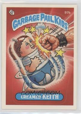 1986 Topps Garbage Pail Kids Series 3 - [Base] #97b.1 - Creamed Keith (One Star Back)