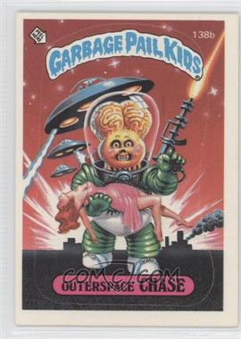 1986 Topps Garbage Pail Kids Series 4 - [Base] #138b.2 - Outerspace Chase (two star back)