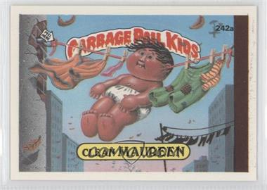 1986 Topps Garbage Pail Kids Series 6 - [Base] #242a - Clean Maureen