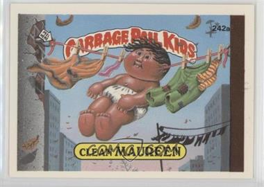 1986 Topps Garbage Pail Kids Series 6 - [Base] #242a - Clean Maureen