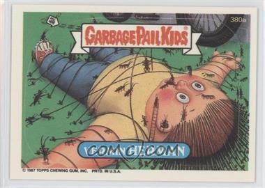 1987 Topps Garbage Pail Kids Series 10 - [Base] #380a - Vermin Herman