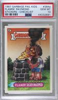 Flamin' Raymond (one star back) [PSA 10 GEM MT]
