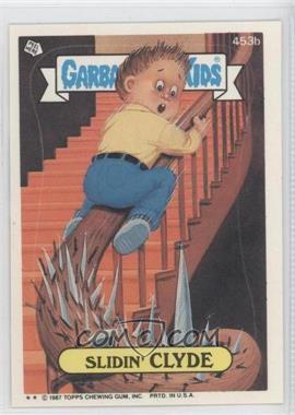 1987 Topps Garbage Pail Kids Series 11 - [Base] #453b.2 - Slidin' Clyde (Two Star)