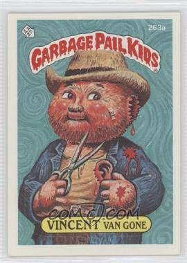 1987 Topps Garbage Pail Kids Series 7 - [Base] #263a.2 - Vincent Van Gone (two star back)