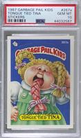 Tongue Tied Tina (One Star Back) [PSA10GEMMT]