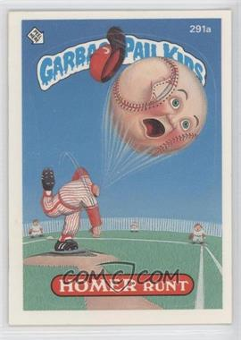 1987 Topps Garbage Pail Kids Series 7 - [Base] #291a.2 - Homer Runt (two star back)