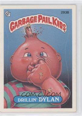 1987 Topps Garbage Pail Kids Series 8 Base 293b 1 Drillin Dylan One Star Back