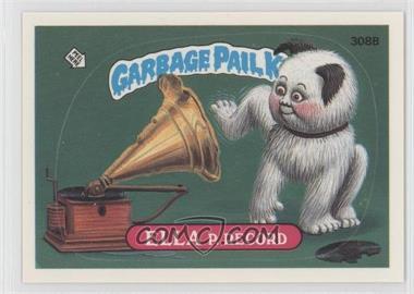 1987 Topps Garbage Pail Kids Series 8 - [Base] #308b.2 - Ella P. Record (Two Star Back)
