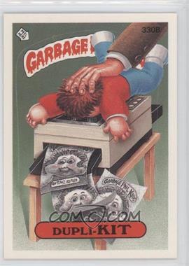 1987 Topps Garbage Pail Kids Series 8 - [Base] #330b.1 - Dupli-kit (One Star Back)