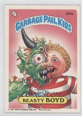1987 Topps Garbage Pail Kids Series 9 - [Base] #355a - Beasty Boyd