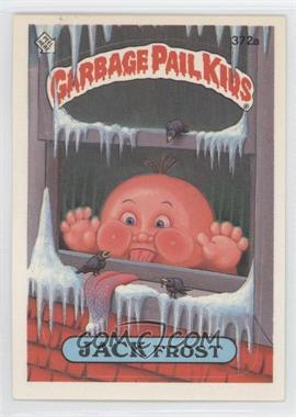 1987 Topps Garbage Pail Kids Series 9 - [Base] #372a.1 - Jack Frost (one star back)