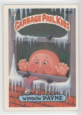 1987 Topps Garbage Pail Kids Series 9 - [Base] #372b.2 - Window Payne (two star back)